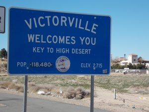 Victorville CIty Sign