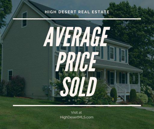 Average Price Sold